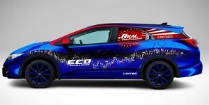 Hondateamet satsar på GUINNESS WORLD RECORDS i bränsleeffektivitet